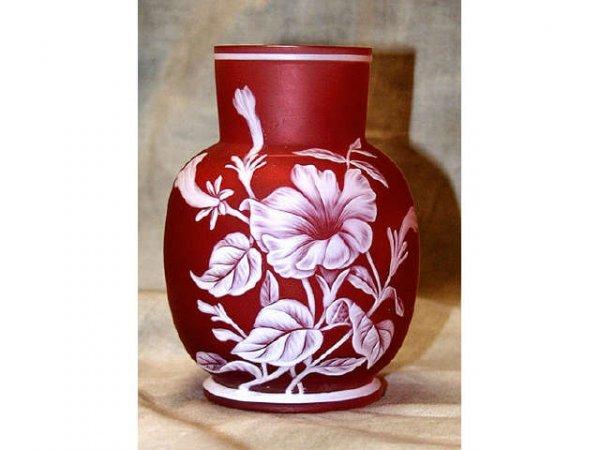 359: Fine Webb Cameo Glass Vase