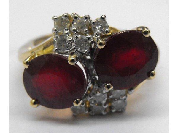 8007: Ruby & Diamond Ladies Ring Ap. $ 21,460