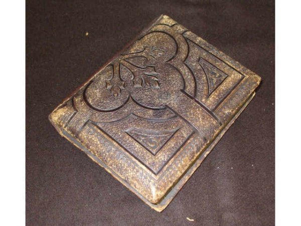8205: 19th Century Leather Bound Photo Album