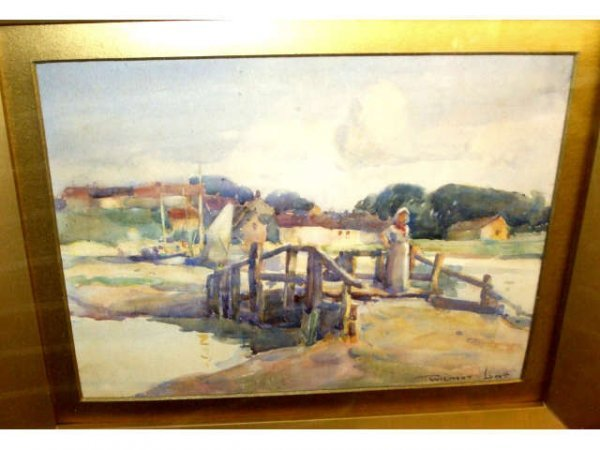 8215: Wilmot Lundt Scenic Watercolor