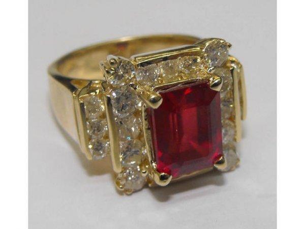 4: Ruby & Diamond Ring Ap.$ 50,985