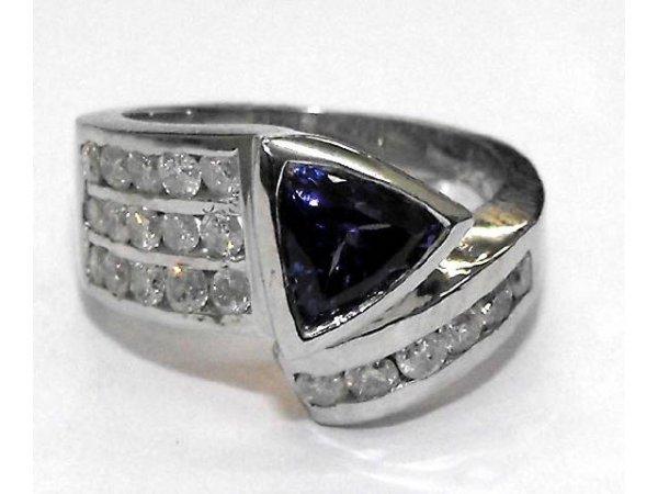 5: Tanzanite & Diamond Ring Ap.$8007