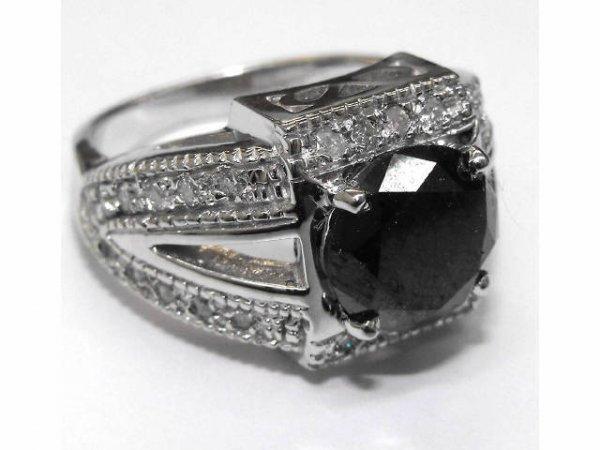 11: Ladies Black Diamond Ring  Ap. $