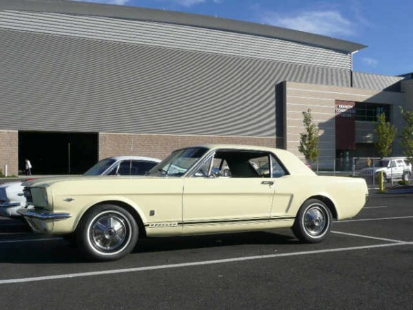 """635: 1966 FORD MUSTANG GT """"A"""" CODE"""
