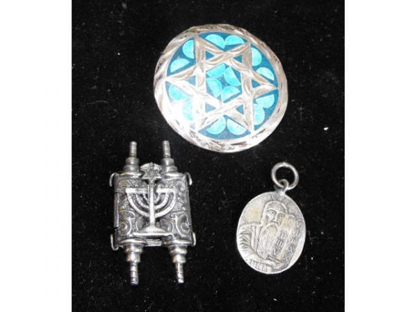 708: Lot of 8 Assorted Estate Judaica & Other