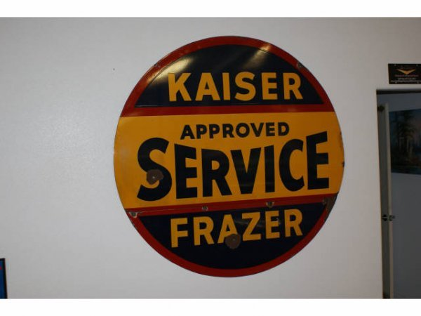 1542: Kaiser Approved Service Double Sided Sign