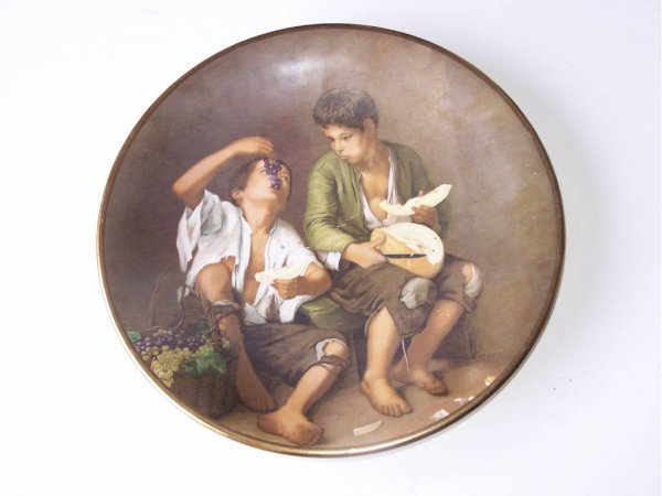 17: Staffordshire Collectors Plate