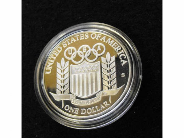 2024: 1992 Olympic Proof Silver Coin Baseball