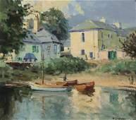 Maurice C Wilks  Evening Light Cushendun