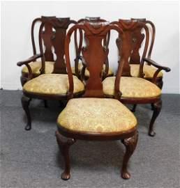 Baker Set of 6 Mahogany Dining Chairs