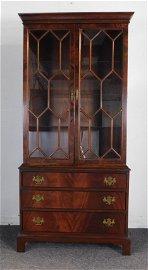 James River Collection Mahogany China Cabinet
