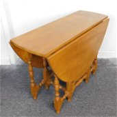 Rare Kittinger CW 55 Gateleg Table Serial No. 5