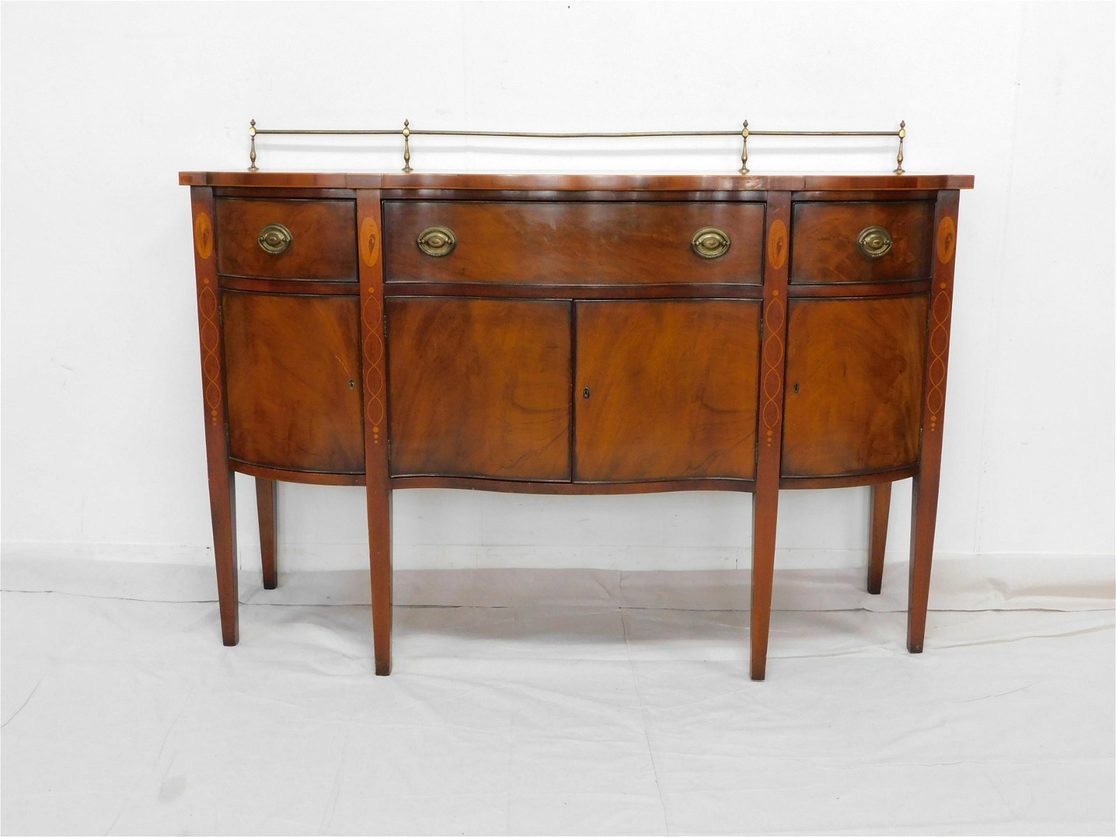 Wallace Nutting Inlaid Sideboard by Drexel