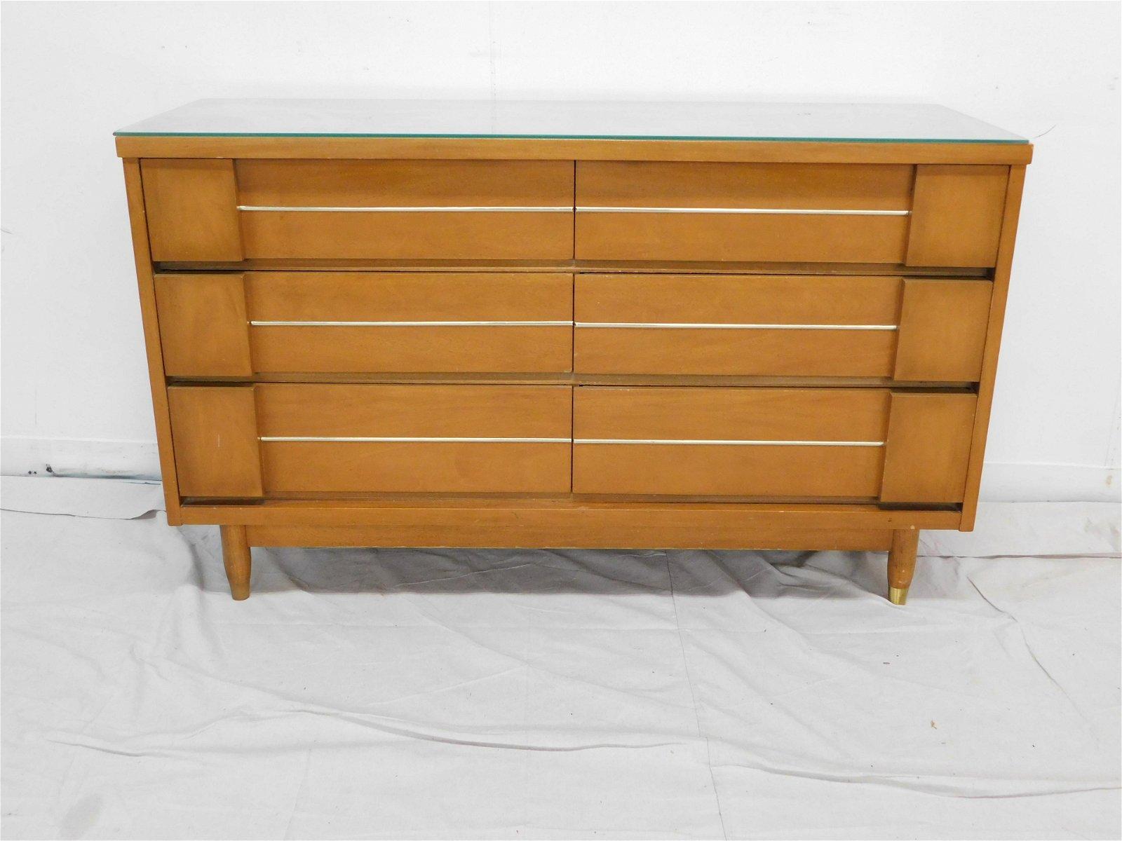 United Furniture Mid Century Modern Dresser
