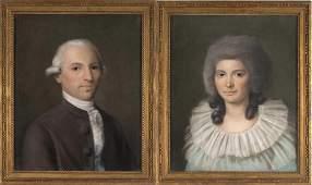 """Joseph Petitot (1771-1844) attribué à """"Portrait de"""