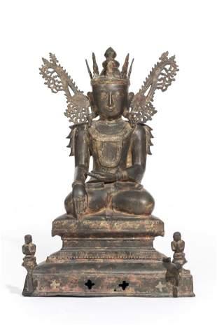 Bouddha Birman Sham, dit Jambhupati Buddha,