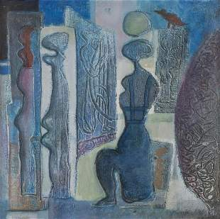 """Omar el NAGDI (1931-2019) """"Le peintre et son modè"""