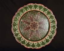 Judy Ritger Scalloped Plate
