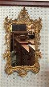 "Carve Italian Gilded Mirror 47"" x 65"""
