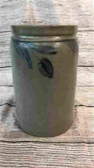 1 1/2 Gallon Salt Glaze Crock
