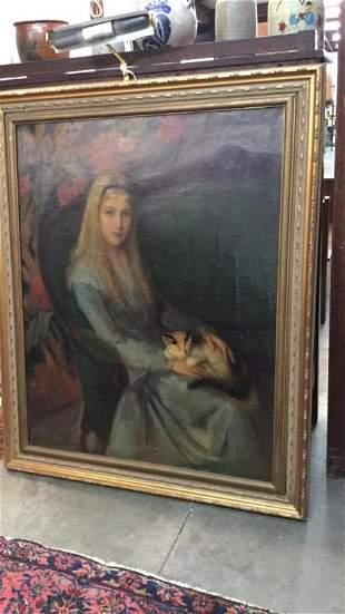 Oil on Canvas, Louise Lyon Heustis
