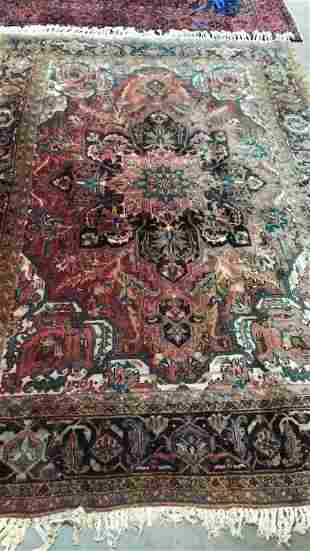 12' x 8' Hand Knotted Persian Area Rug