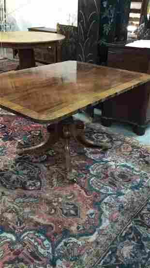 Regency Inlaid Breakfast Table