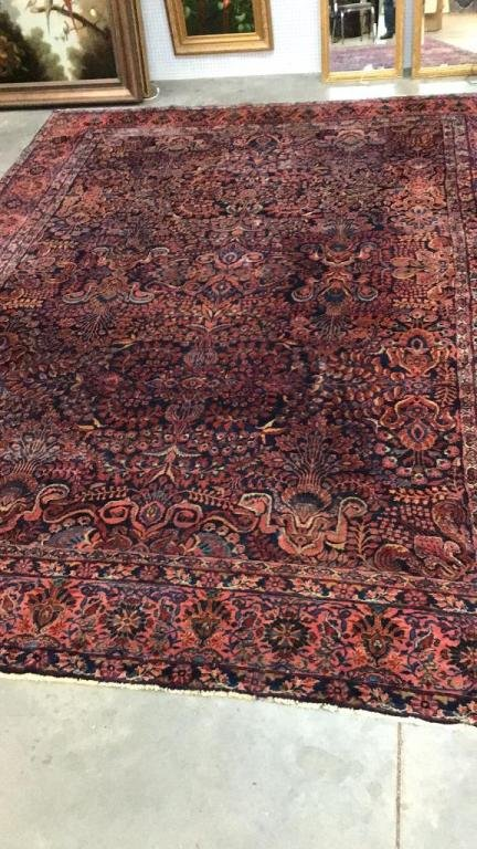 """14'6"""" x 10'6"""" Hand Knotted Persian Area Rug"""