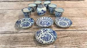 11 Pieces Asian Porcelain