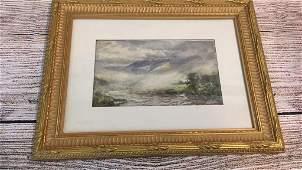 Watercolor Highlands Mist