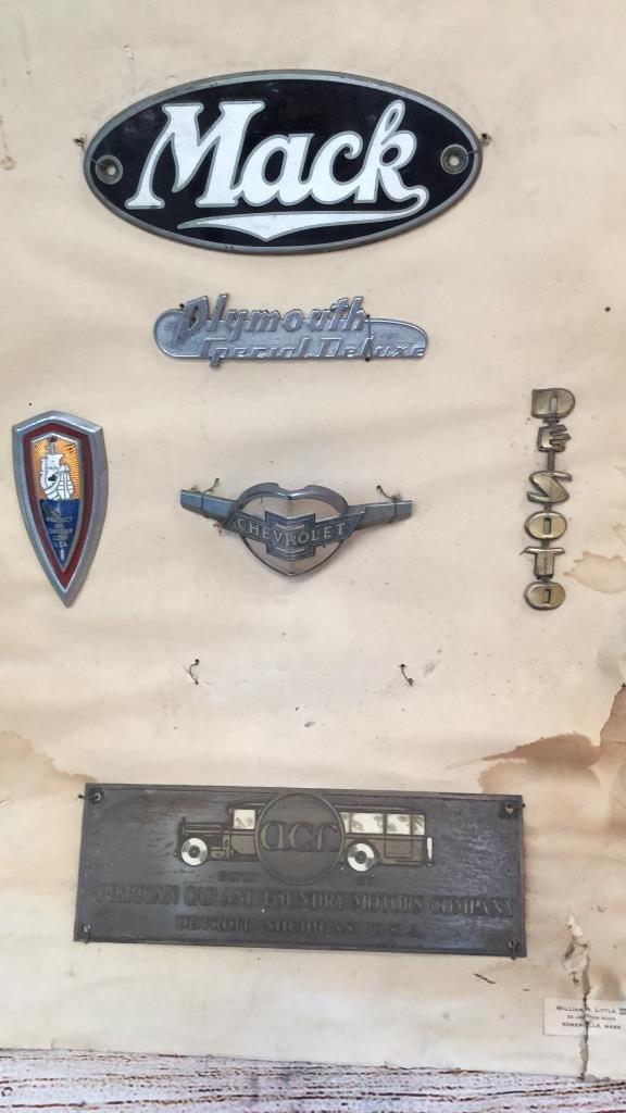 5 Assorted Automotive Emblems