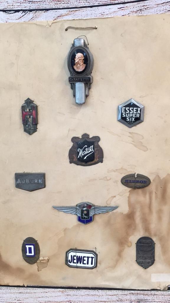 10 Assorted Automotive Badges