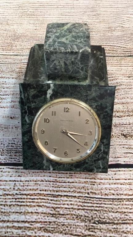 Tiffany and Company Desk Clock