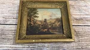 Oil on Board, English Landscape