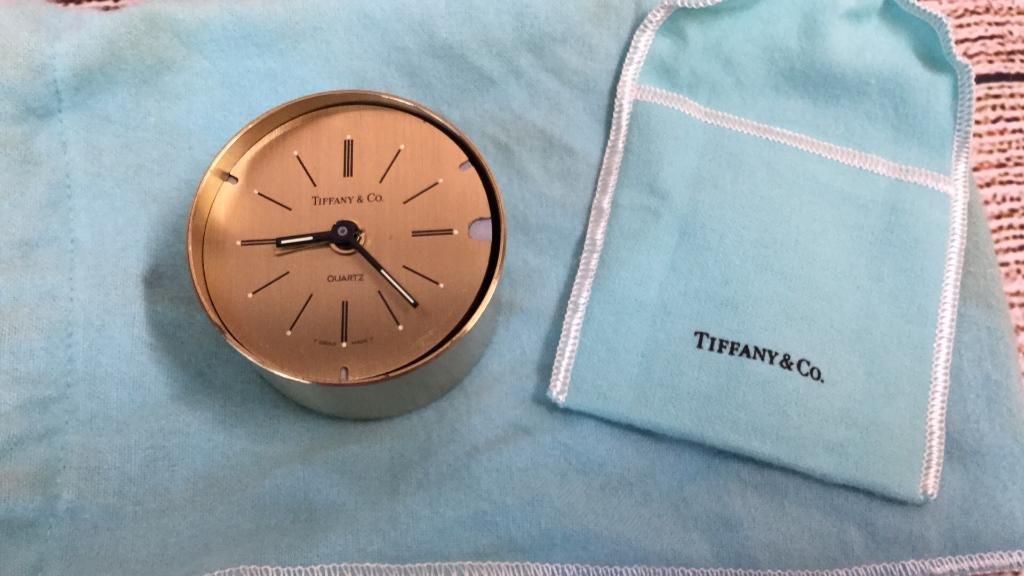 Tiffany & Co. Quartz Travel Clock