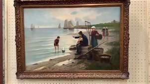 L Jansen Oil on Canvas