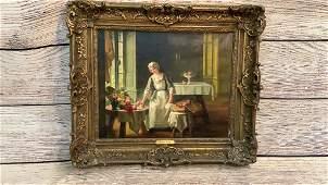 Oil on Canvas, Attibuted to Albert Sorkau