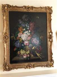 Signed Oil on Board  Franz Xaver Petter