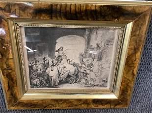 Rembrandt Heliogravure,  Triumph of Mordecai