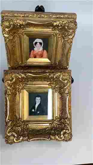 Pair Ancestral Portraits