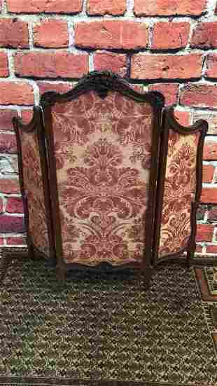 3 Panel French Fire Screen