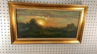Oil on Canvas, Sunrise