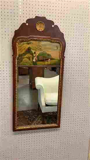 Chippendale Eglomise Mirror