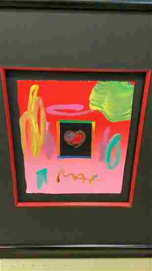 Peter Max Signed Pop Art