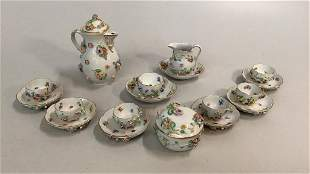 Dresden Miniature Tea Set
