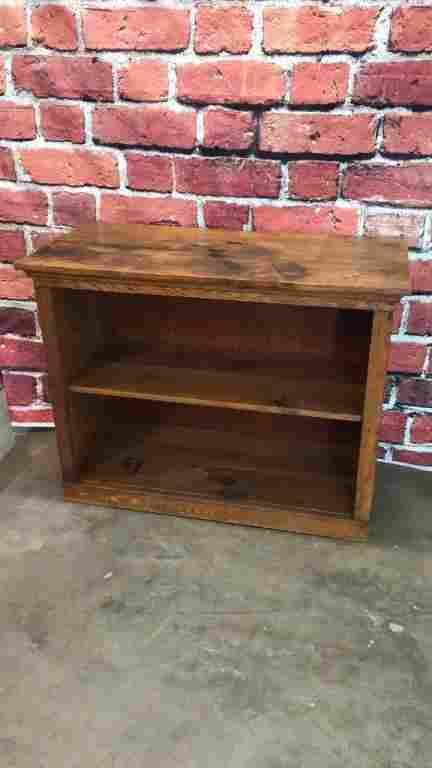 Oak Crock Cupboard