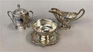3 Sterling Silver Serving Pieces
