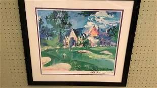 Leroy Neiman 1997 PGA Signed Print