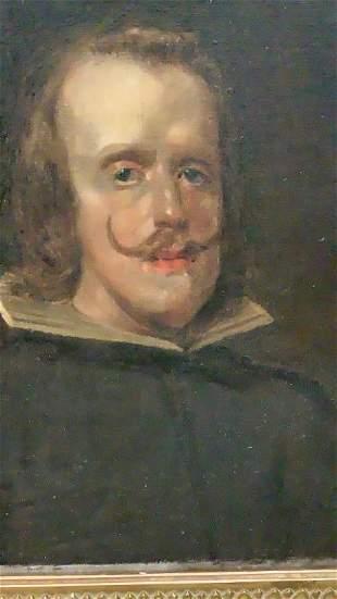 Oil on Canvas Portrait of Gentleman