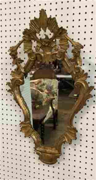 Italian Giltwood Wall Mirror